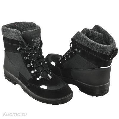 Зимние ботинки Tuisku, цвет Black