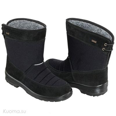Зимние полусапоги Talvikki, цвет Black