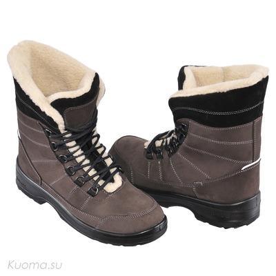 Зимние ботинки Alaska, цвет Brown