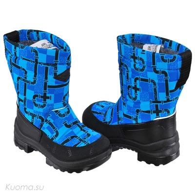Зимние сапоги Putkivarsi, цвет Neon Blue Pipeline