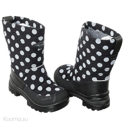 Зимние сапоги Putkivarsi, цвет Black Dots