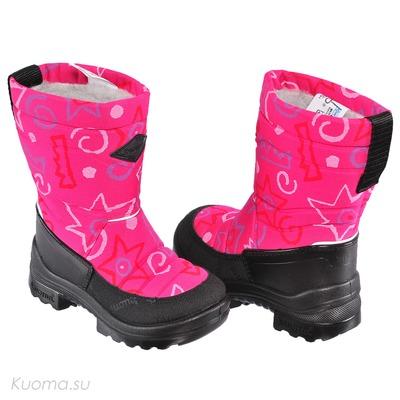 Зимние сапоги Putkivarsi, цвет Pink Nanok