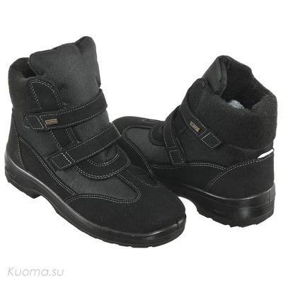Зимние ботинки Kuura, цвет Black