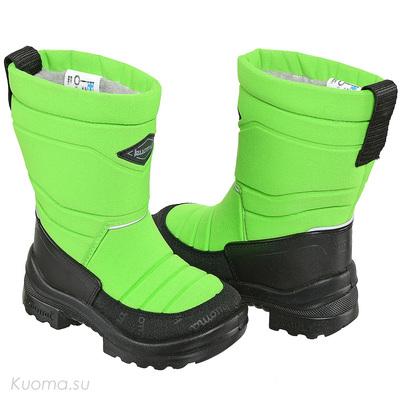 Зимние сапоги Putkivarsi, цвет Neon Green