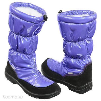 Зимние сапоги Gloria, цвет Purple