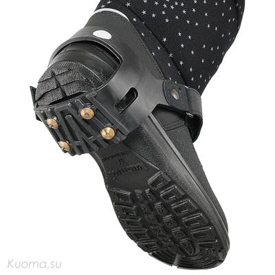 Антигололедные шипы Shoe Spikes, цвет Black
