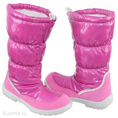 Зимние сапоги Gloria, цвет Pink