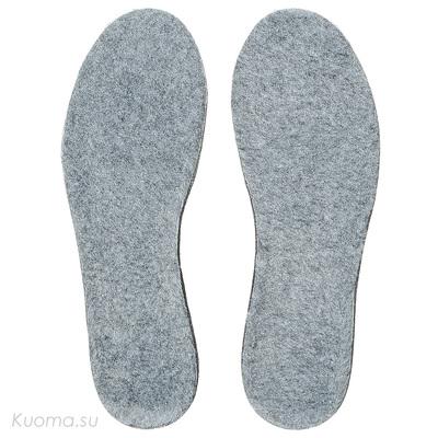 Стельки с ворсом TeddySport Kuoma, цвет Grey