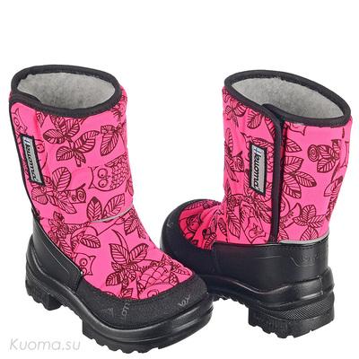 Зимние сапоги Tarravarsi, цвет Neon Pink Owl